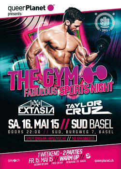queerPlanet THE GYM Mai 2015